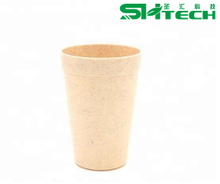 Colorful Plastic PP Recycle Wheat Straw Beverage Water Cup